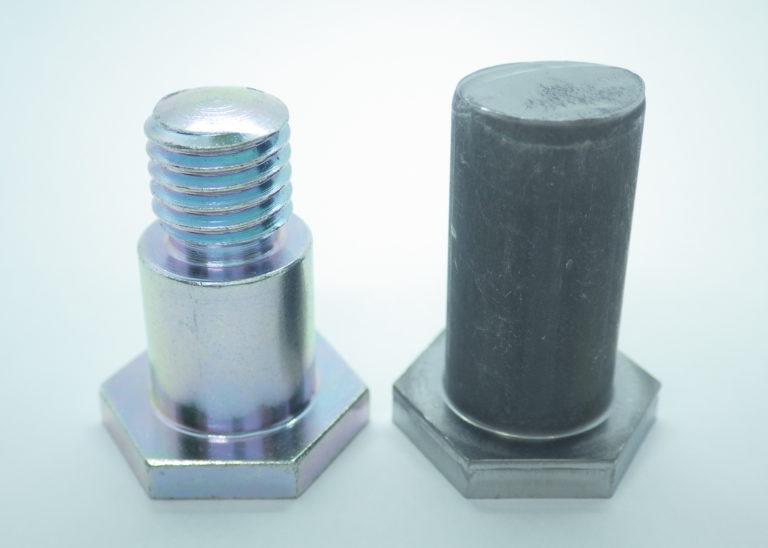 段付きボルトの事例①:段付きボルト(φ15mm h7)