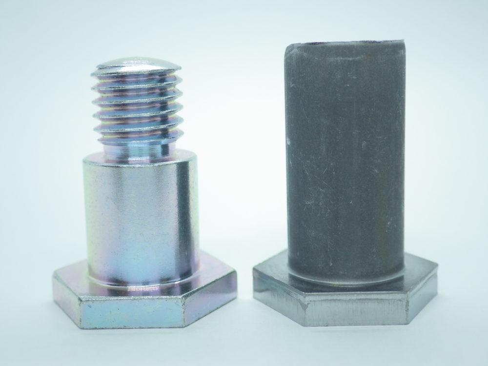 段付きボルト(φ15mm h7)